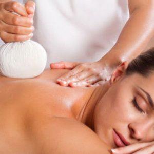 Heiße Kompresse Postnatale Massage Thai Stil