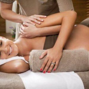 Erstes Trimester Schwangerschaft Massage